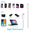 miniature 7 - Fast PD Charger 20W USB-C Power Adapter + Cable For iPhone 12 Pro Max, 2 Units!!