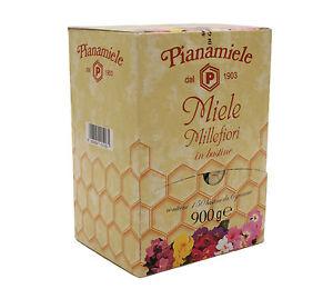 miele monodose  Miele Millefiori in bustine gr.6 pz.150 Pianamiele monodose   eBay