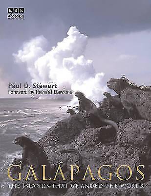 """AS NEW"" Richard Dawkins,Stewart, Paul D., Galapagos: The Islands That Changed t"
