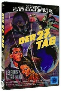Der-27-Tag-Valerie-French-Gene-Barry-Gallery-Des-Grauens-Blu-Ray-DVD-the-Day
