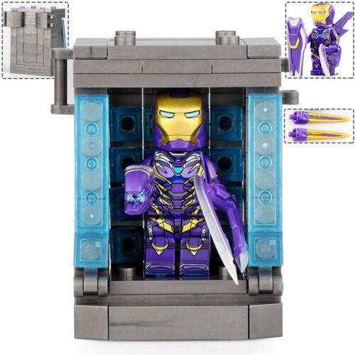 Pepper Potts Hall Of Armor Marvel Super Heroes Invincible Lego Moc Minifigure