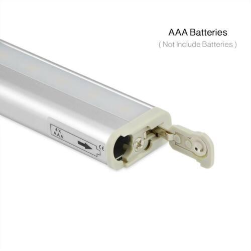 LED Motion Sensor Lights PIR Wireless Night Light Battery Cabinet Stair Bar Lamp