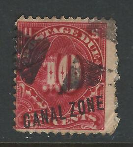 Bigjake: Canal Zone #J3, 10 cent Postage Due