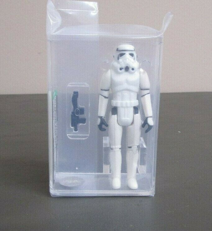 Stormtrooper 1977 stjärnornas krig kvalitetrad AFA 80 NM KINA Coo JJ Nytt mål