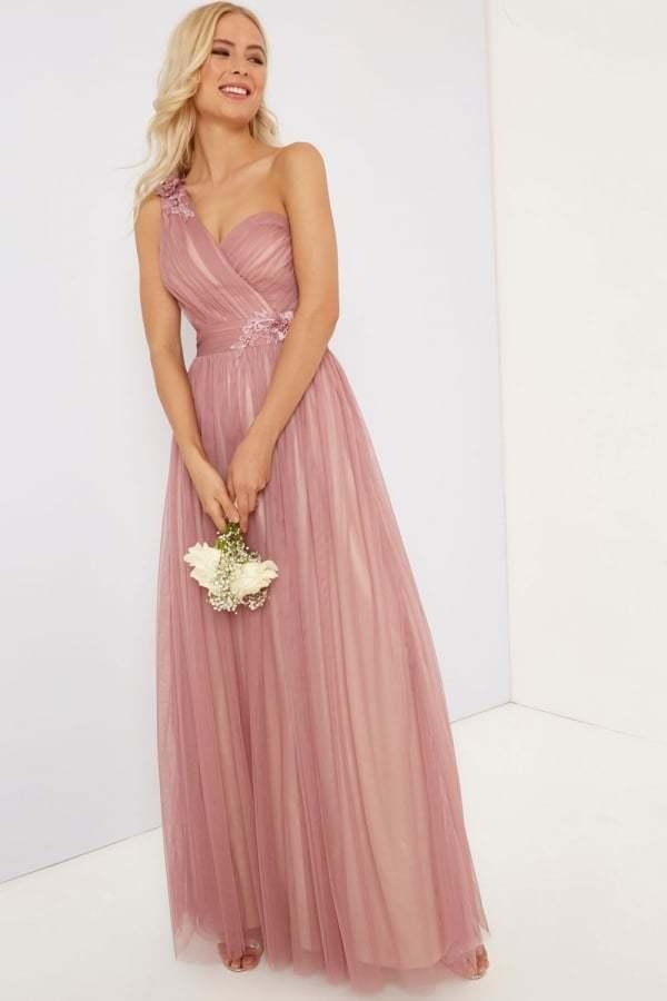 Little Little Little Mistress Blaush Maxi Dress Größe UK 8 rrp  DH171 BB 10 605d28