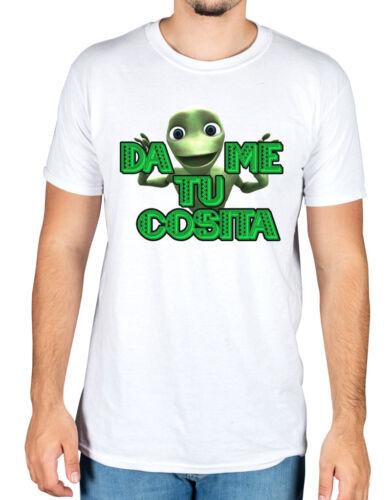 El Chombo Frog Dame Tu Cosita T-Shirt Introduccion B El Cosita Remix Meme Alien