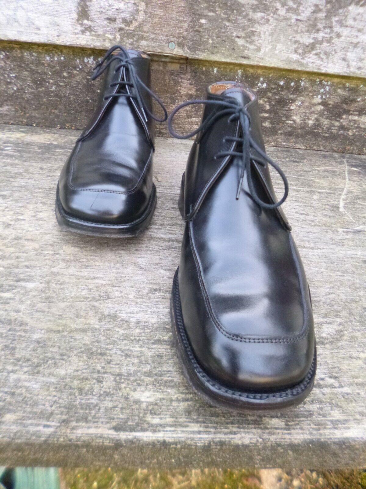 Cheaney Negro botas Caballeros – – – Excelentes Condiciones