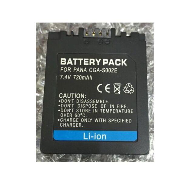 Replacement Battery For PANASONIC Lumix DMC-FZ5EB