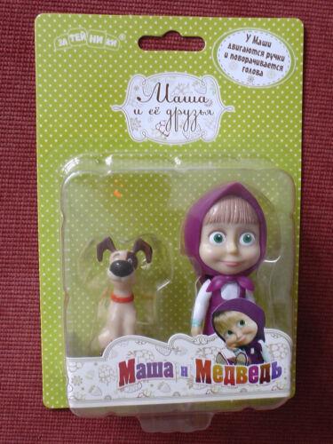 Masha/'s friends Toy Figures doll Masha Dog Masha and the Bear for child