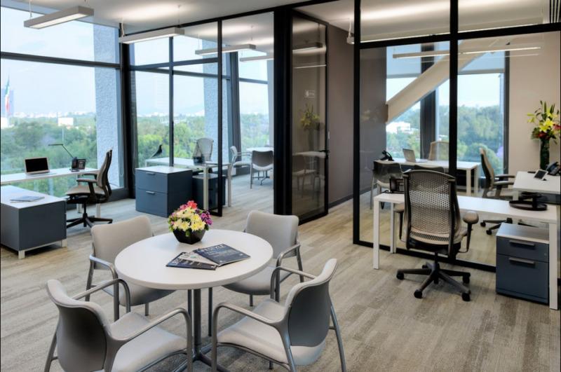 Oficina En Renta En Centro De Negocios En Torre Virreyes Para 70 Personas (m2o19