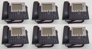 Lot-of-6-Cisco-7940G-IP-Phone-7940