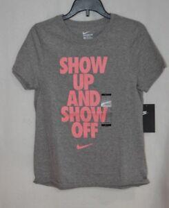 Sportwear Mlxl Nike Sz Off And Up Greypink Girl's Tee Show pwRdwqa