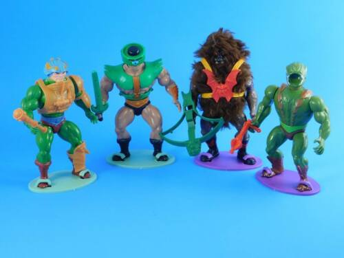 - He-Man Action Figure Stands MOTU 82-88 Vintage Masters of the Universe