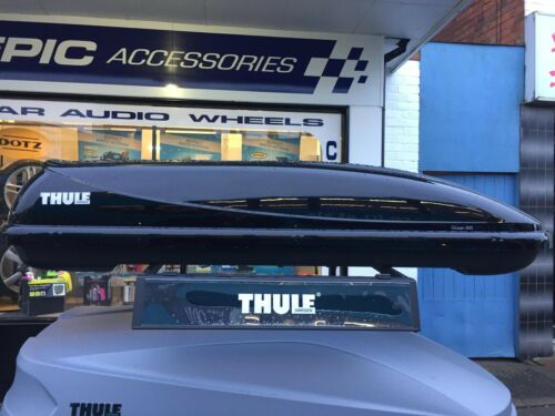 Half size Ski box Leicester Thule Stockist Thule Ocean 600 Roofbox 330Ltr