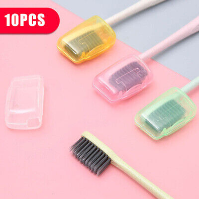 10PCS Toothbrush Head Cover Case Brush Cleaner Protector Camping Travel Tool