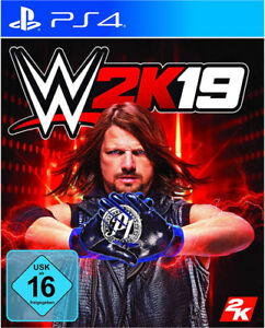 WWE 2k19 Playstation 4 PS 4 deutsche Version
