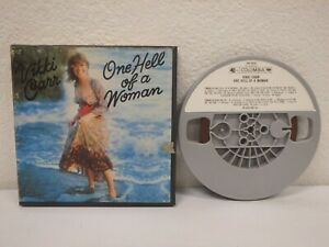 VIKKI-CARR-One-Hell-Of-A-Woman-3-IPS-4-Track-Reel-To-Reel-Tape-1974-1R1-6252