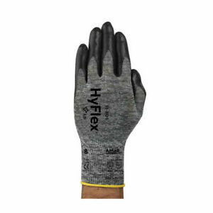 12 x Ansell Hyflex 11-801 Nitrile Palm Coated KW Comfort Gloves - 8 / Medium