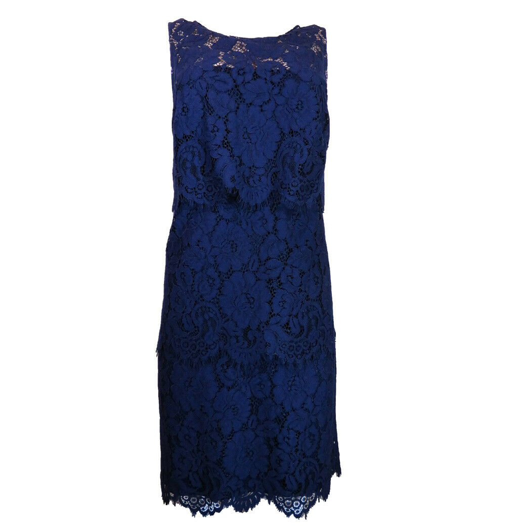 195 Lauren Ralph Lauren Tiered Lace Dress