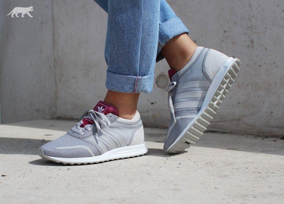 adidas Originals Damenschuhe Los Angeles Trainers Grau Berry AF4300