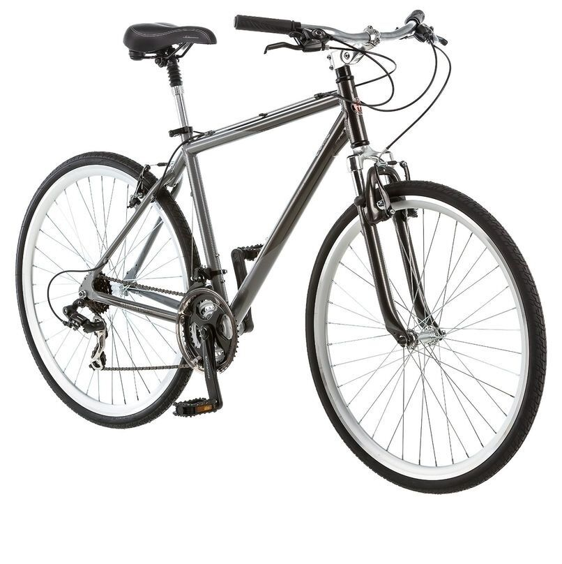 Schwinn Capitol 700c Mens 18 Hybrid Bike,18-Inch Medium,Grey- S4060 Bicycle NEW