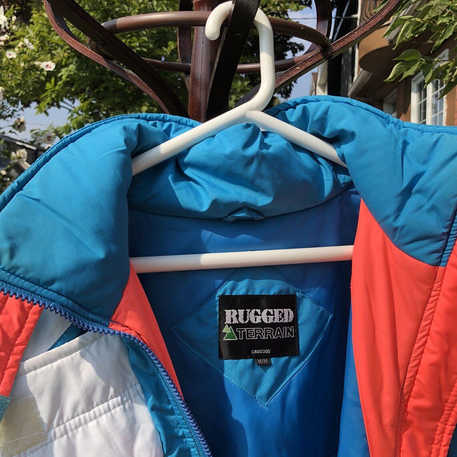 Vintage 90s Ski Multi-color Color Block Jacket Co… - image 4