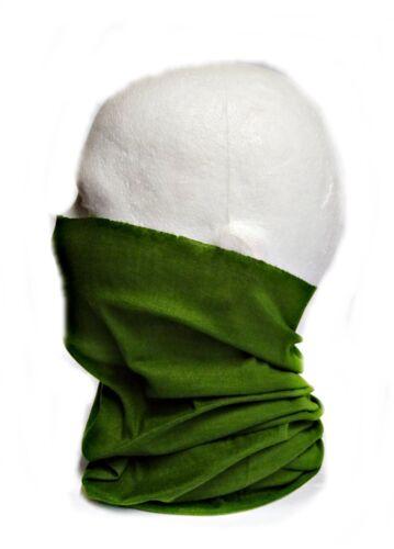Multifunktionstuch Halstuch Schlauchtuch Kopftuch Motorrad Fahrrad Biker Olive