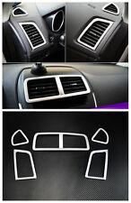 Air Vent Outlet Cover Trim 5pcs for Mitsubishi ASX RVR Outlander sport 2010-2015