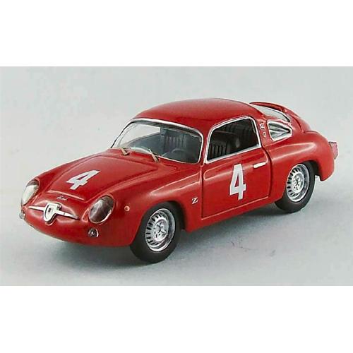 FIAT ABARTH 750 N.4 5th  WINNER CLASS  GT GP MONZA 1963 G.CAPRA 1:43 Best Model