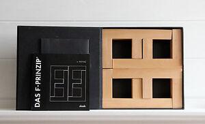 Feyyaz Das F Prinzip Design Jeu Édition Limitée Blocs En Forme Signés