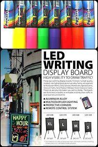 Flashing Led Writing Board Advertising Menu Remote And
