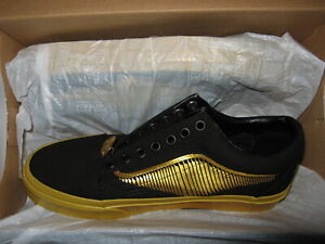 Details about Vans x Harry Potter Golden Snitch Old Skool Womens Skate Shoes Sneakers Black