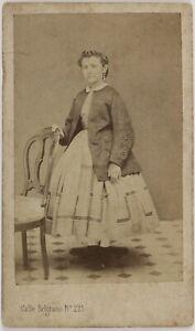 Spagna-Establecimiento-di-Fotografia-Foto-CDV-Vintage-Albumina-1863