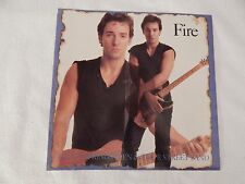 "Bruce Springsteen ""Fire"" PICTURE SLEEVE! MINT! PERFECT! ONLY NEW COPY ON eBAY!"