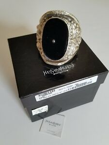 c3634771c8e9 Tom Ford for Yves Saint Laurent RUNWAY Sterling Silver Cuff Bracelet ...