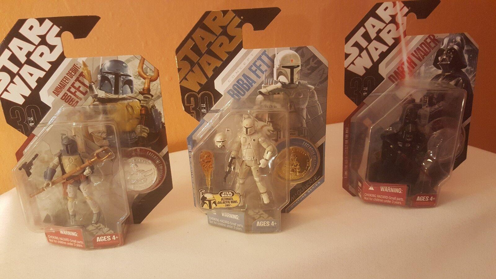 Star Wars - Concept Boba Fett, Darth Vader, and Animated Debut Boba Fett