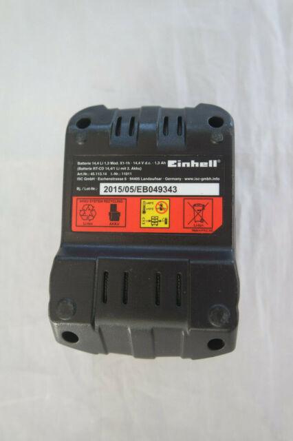 Einhell Akku Pack RT-CD 14,4/1 Li .14,4V  1,3 Ah  Ersatzakku Li-ion Batterie