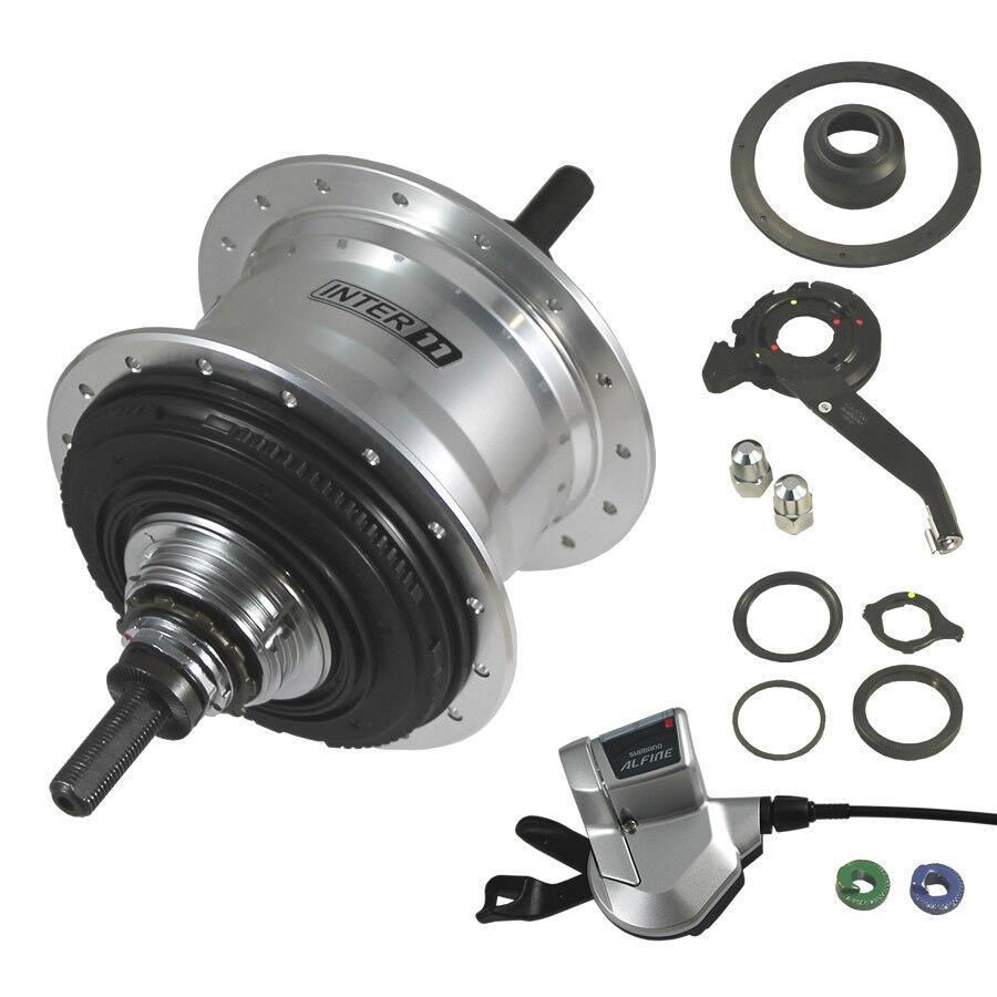 Mozzo Shimano Alfine SG-S700 32L 11 velocità Accessori - argento 32L SG-S700 4d9ad5