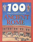 100 Things You Should Know About Ancient Rome by Fiona MacDonald (Hardback, 2001)