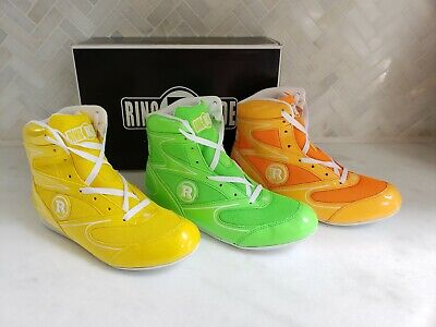 New Ringside Diablo Shoe11 Lo-Top Low Top Boxing Shoes Black