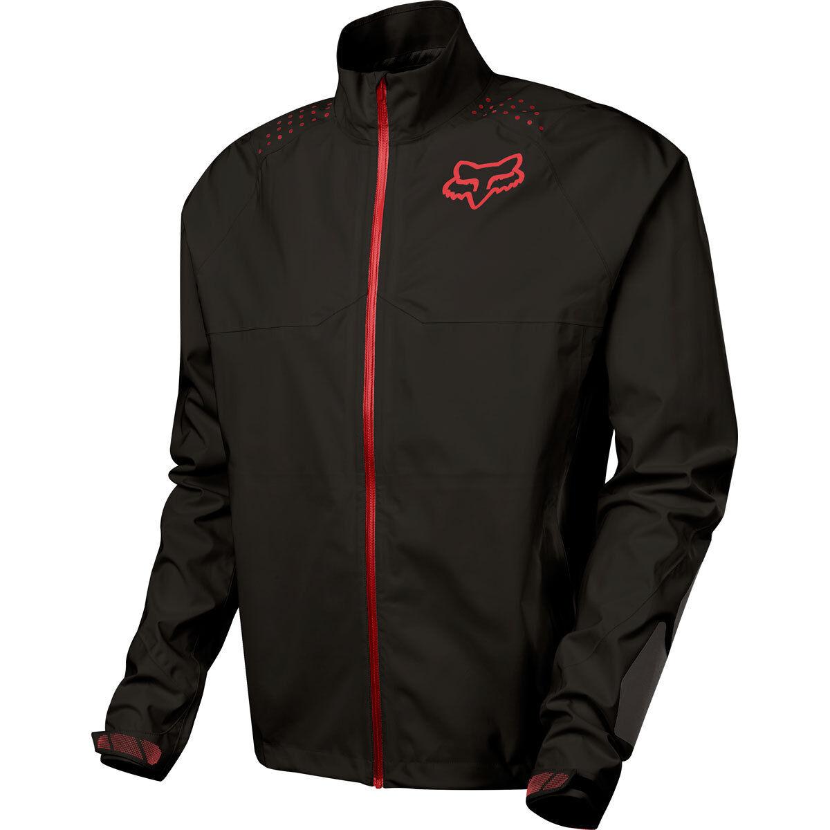 Fox Downpour lt jacket noir/anthracite, bleu/jaune-étanche vélo de de de montagne e72c28