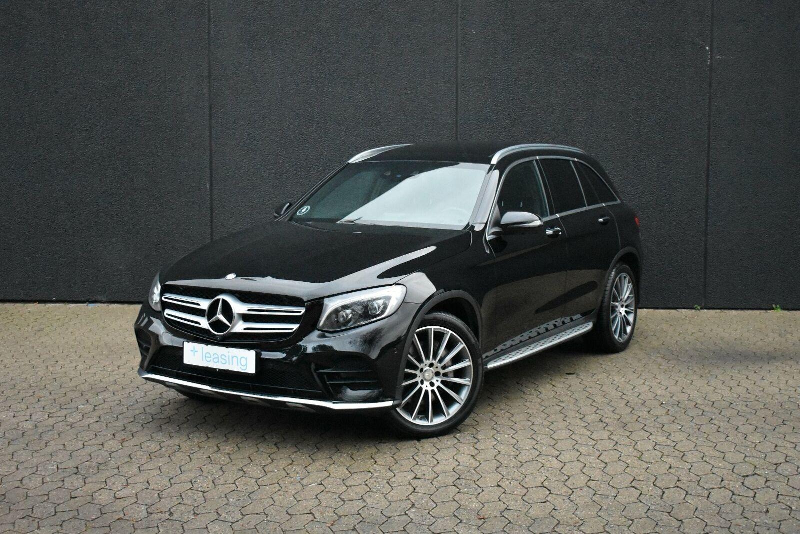Mercedes GLC250 d 2,2 AMG Line aut. 4-M 5d - 3.998 kr.