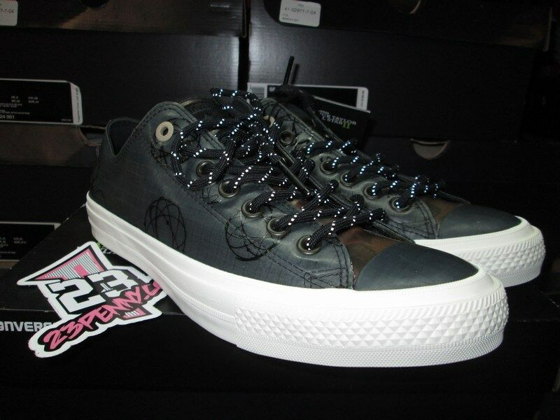 SALE CONVERSE CHUCK TAYLOR ALL STAR LOW 2 II FUTURA COLLAB BLACK CAMO 153023C