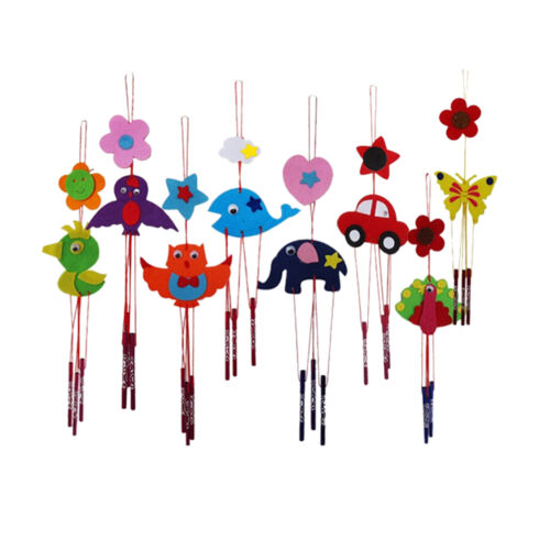 DIY Style Campanula Wind Chime Kids Manual Arts and Crafts Toys for Kids