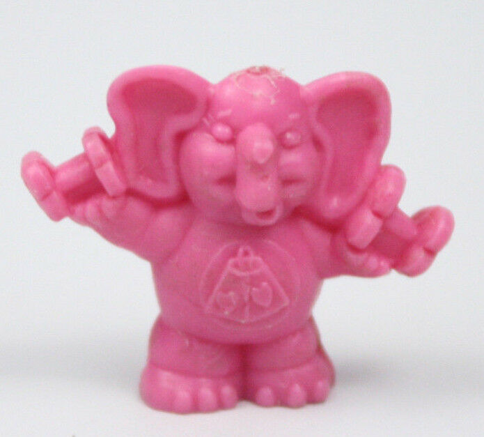 Vtg 1980's Lots-A-Heart Elephant Care Bears Yupi Premium Figure Colombia - Rare