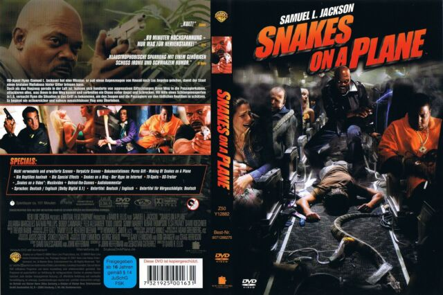 Snakes On A Plane - DVD - Film - Video - 2007 - 1 - Neuwertig !