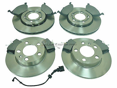 SEAT IBIZA 1.9 TDi 130 BHP 2002-2008 FRONT 2 BRAKE DISCS AND MINTEX PADS SET NEW