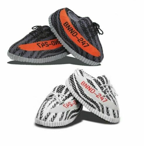 BOOST 350 V2 YEEEZY INDOOR UNISEX ONE SIZE WARM NOVELTY HOME SLIPPERS