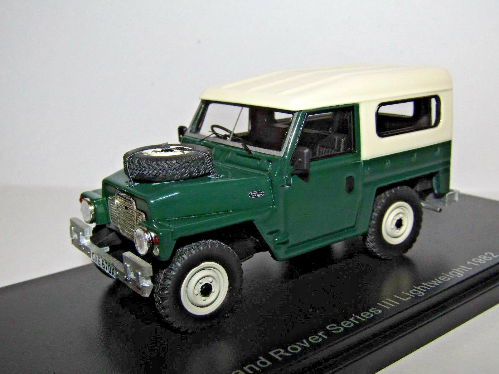 BOS LAND ROVER SERIES III LIGHTWEIGHT 1982 1 43 RESIN BOS43670 BEST OF SHOW
