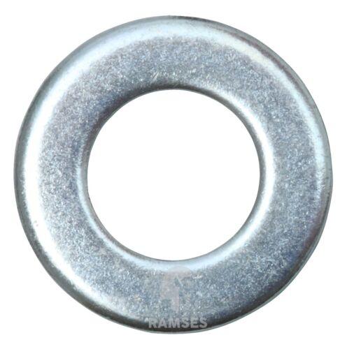 Ramses Unterlegscheiben U-Scheiben DIN 125 Stahl verzinkt für Ø M 4 bis M 24